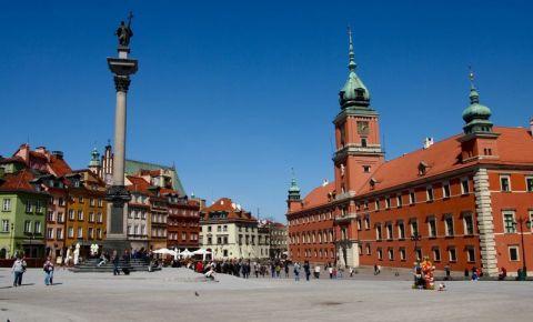 Piata Castelului din Varsovia