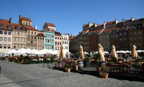 Piata Centrului Istoric din Varsovia
