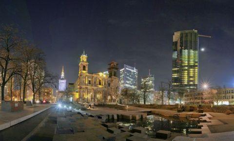 Piata Grzybowski din Varsovia