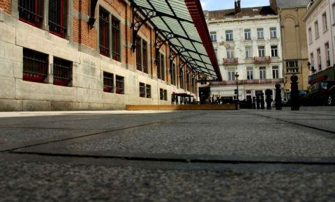 Piata Saint-Gery din Bruxelles