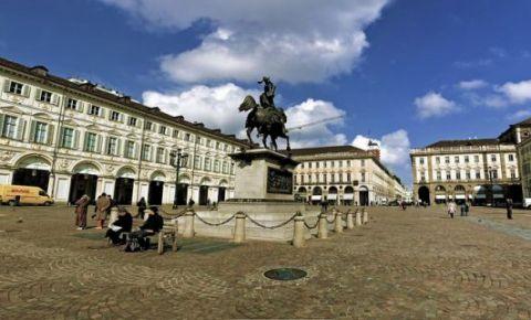 Piata San Carlo din Torino