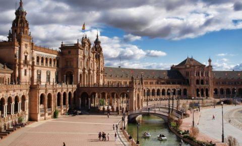 Piata Spaniei din Sevilia (panorama)
