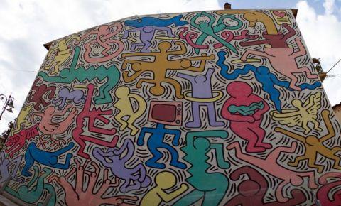 Pictura Murala Tuttomondo din Pisa
