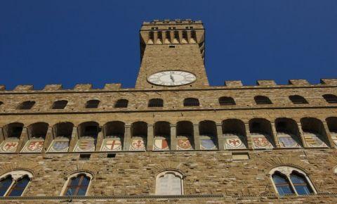Primaria din Florenta (fatada)