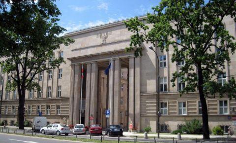 Sediul Gestapo din Varsovia