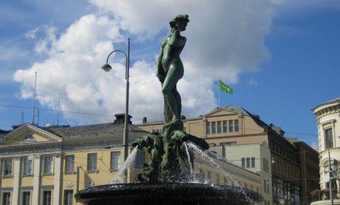Statuia Havis Amanda din Helsinki