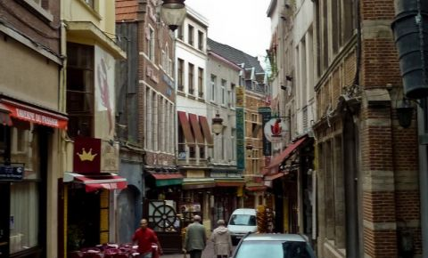 Strada Macelarilor din Bruxelles