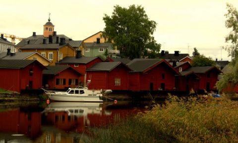 Zona Istorica Porvoo din Helsinki