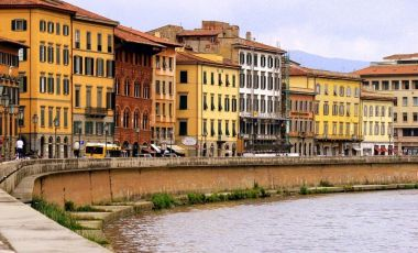 Palatul Gambacorti din Pisa