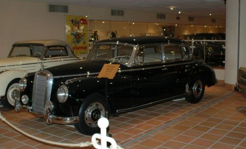 Colectia Auto Rainier III din Monte Carlo