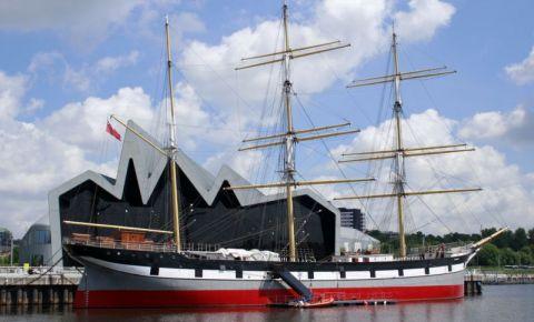 Corabia din Portul Orasului Glasgow