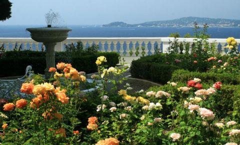 Parcul Fontvieille si Gradina de Trandafiri din Monaco