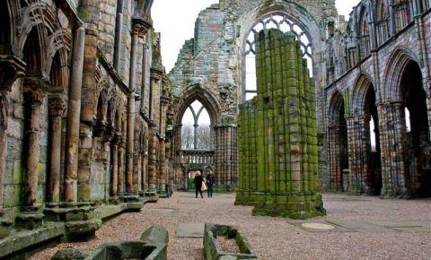 Manastirea Holyrood din Edinburgh