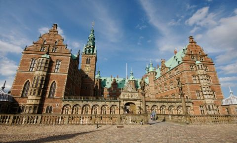 Palatul Frederiksborg din Copenhaga