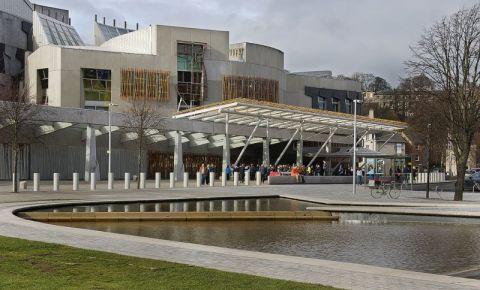 Parlamentul Scotiei din Edinburgh