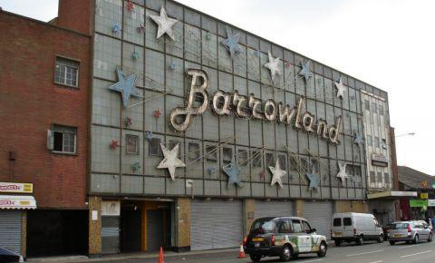 Piata Barrowland din Glasgow