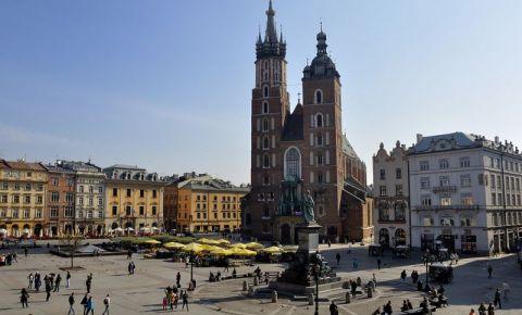 Piata Mariacki din Cracovia