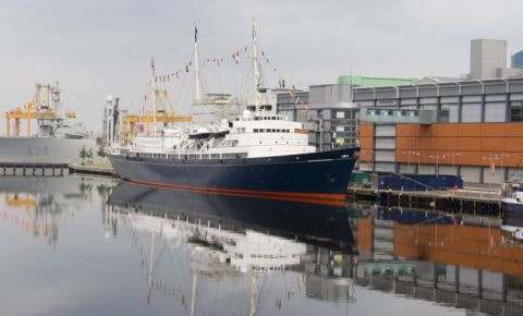 Yacht-ul Regal Britannia din Edinburgh