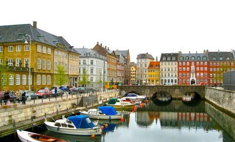 Strada Vestergade din Copenhaga