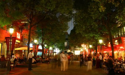 Strada Xin Tian Di din Shanghai