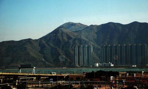 Insula Tung Chung din Hong Kong