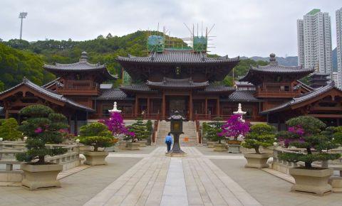 Manastirea Chi Lin din Hong Kong