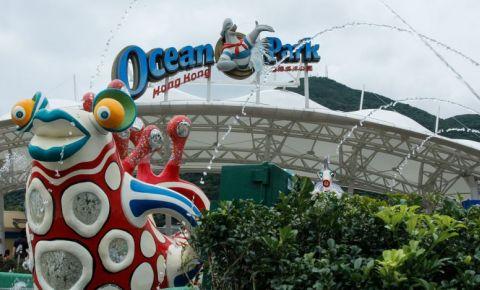 Parcul Ocean din Hong Kong