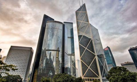 Sediul Bancii Chinei din Hong Kong