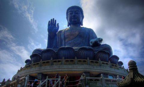 Statuia lui Buddha din Hong Kong