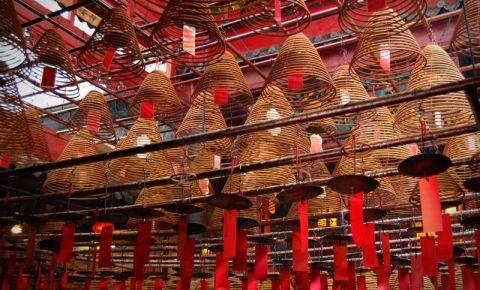 Templul Man Mo din Hong Kong