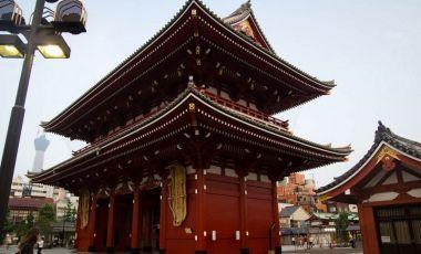 Templul Asakusa din Tokyo