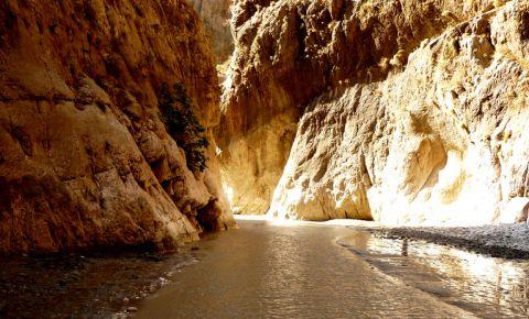 Canionul Saklikent din Antalya