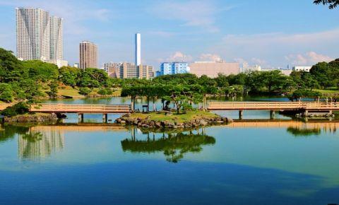 Gradina Hama Rikyu din Tokyo