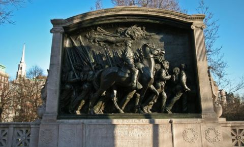 Monumentul Robert Gould Shaw din Boston