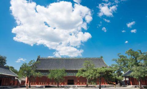 Muzeul de arhitectura veche din Beijing