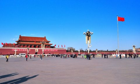 Piata Tiananmen din Beijing