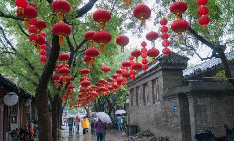 Strada Nanluogu Xiang din Beijing