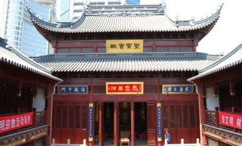 Templul Baiyun din Shanghai