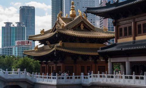 Templul Jing'an din Shanghai
