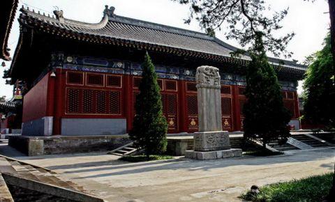 Templul Wanshou din Beijing