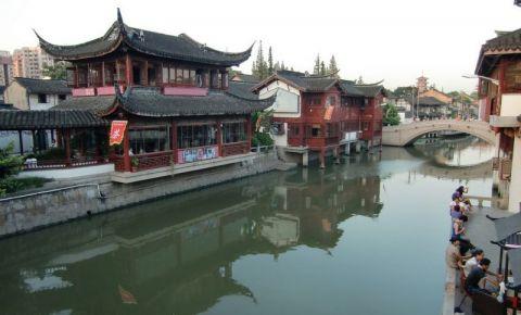 Vechiul Oras Qibao din Shanghai