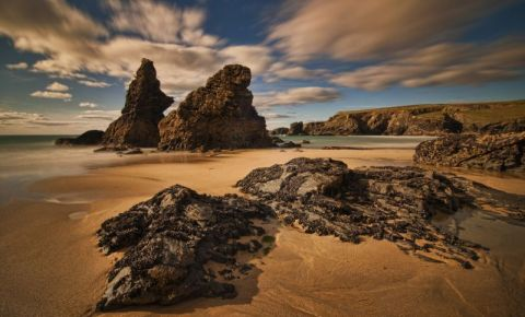 Scarile Bedruthan din Newquay