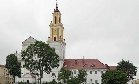 Biserica Bernadina si Seminarul din Hrodna