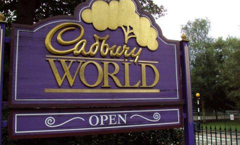 Fabrica de Ciocolata Cadbury World din Birmingham