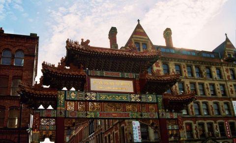 Cartierul Chinezesc din Manchester
