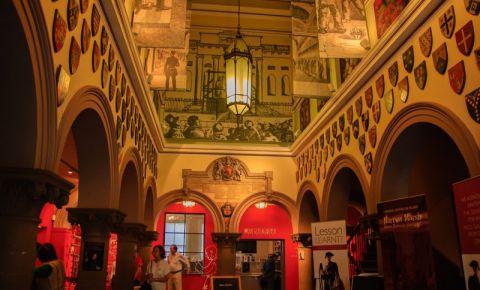 Galeriile Muzeului Justitiei din Nottingham