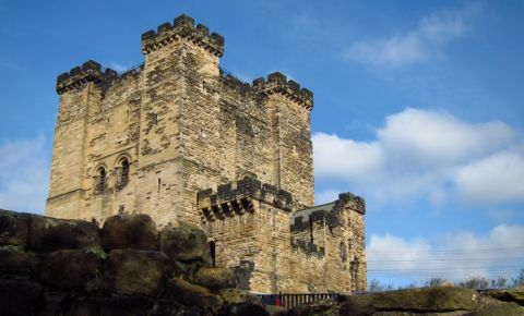 Castelul Garth Keep din Newcastle