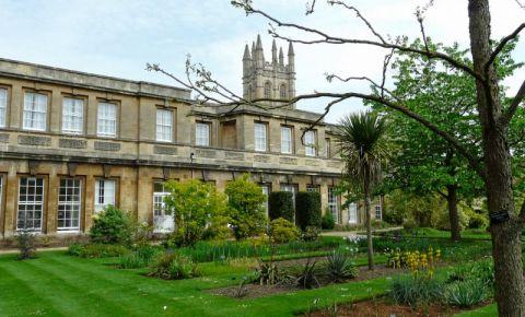 Gradina Botanica a Universitatii din Oxford