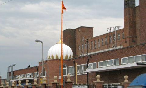 Resedinta Guru-lui Nanak Dev Ji Gurdwara din Leicester