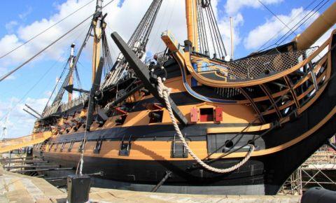 Nava Amiral HMS Warrior din Portsmouth